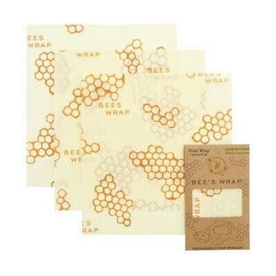 Bee's Wrap - Pack of 3 medium wraps
