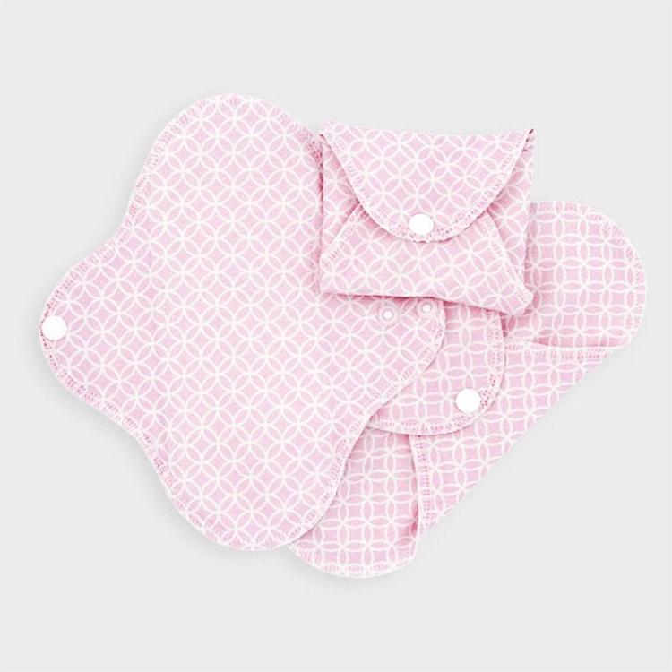 Sanitary Pads - Regular - Pink