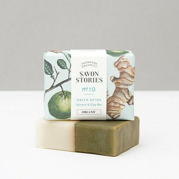 Soap Bar n°10 - Green Detox - Face & Body