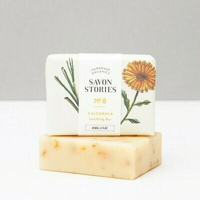Soap Bar n°8 - Exfoliating Calendula - Body