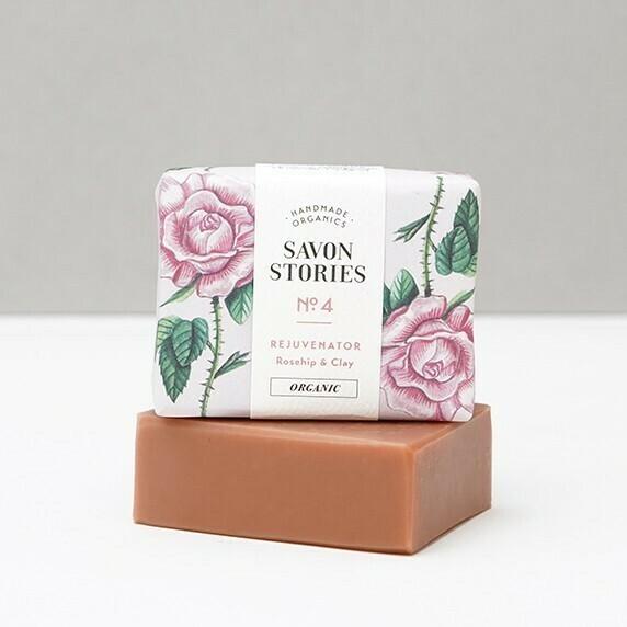 Soap Bar n°4 - Pink Clay Rejuvenator - Face & Body