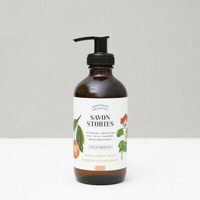 Hand & Body Wash - Mandarin & Geranium