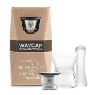Reusable & Refillable pod for Nespresso - Waycap