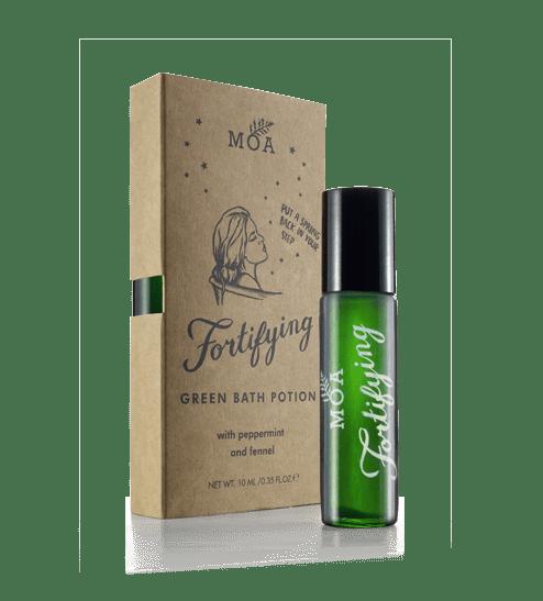 Fortifying Green Bath Potion Shot