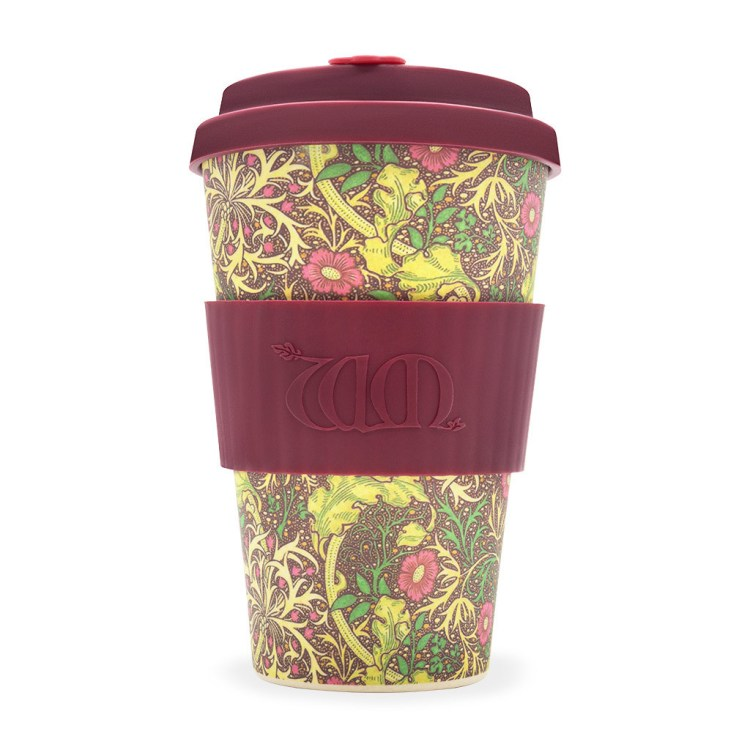 Ecoffee Cup - William Morris: Seaweed 400ml