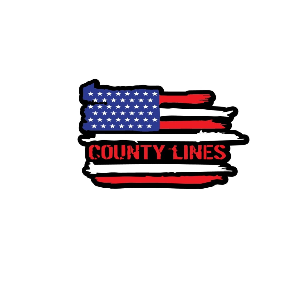 County Lines USA Sticker