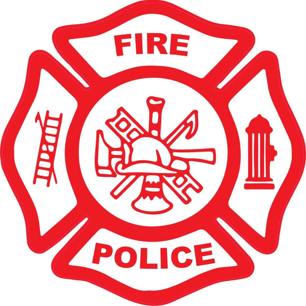 Fire Police Maltese Cross