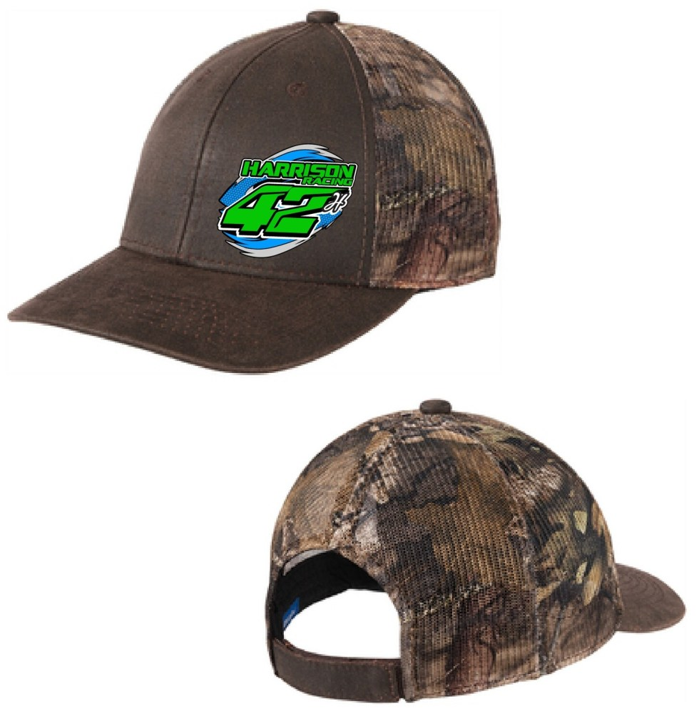 2020 Harrison Racing Mesh Camo Hat
