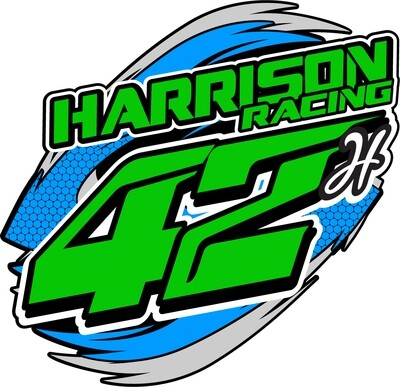 2020 Harrison Racing Sticker