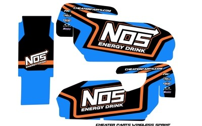 Cheater Parts Wingless Sprint Wrap (Designed to Order)