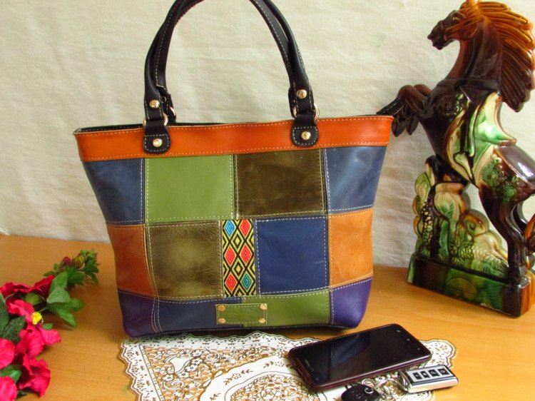 Colorful Leather women handbag Women Handbag 00110
