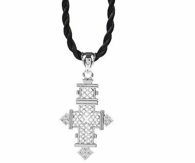የብር የአንገት መስቀል Silver Necklace