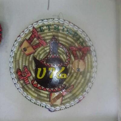 ሰፌድ Ethiopia my country hand made Woven plate