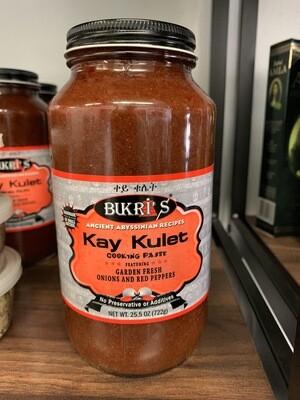 በክሪ ቀይ ቁሌት Bukri's Kay Kulet cooking sauce Ethiopian