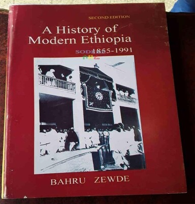 A History Of Modern Ethiopia 1855-1991 By Bahru Zewde