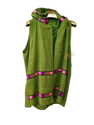 ረዘም ያለ የሴቶች ሰደርያ  Ethiopian Traditional Women Vest / Designed By ዩቶጲያ Traditional Cloth