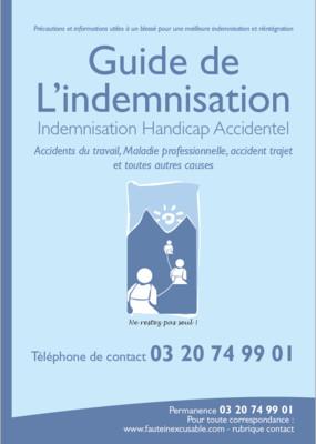 Guide de l'Indemnisation - version papier (100 exemplaires)