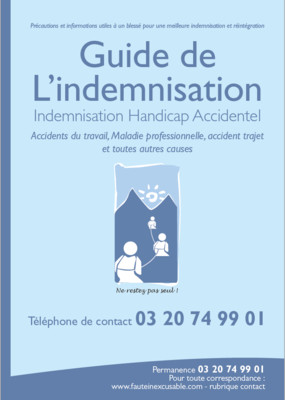 Guide de l'Indemnisation - version papier (500 exemplaires exemplaires)