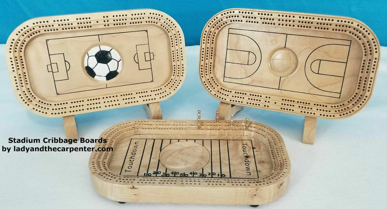 Cribbage Board: Sports Stadium