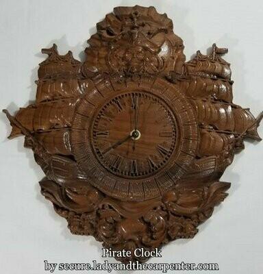 Pirate Clock