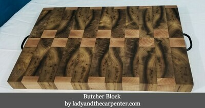 One of a Kind Butcher Block