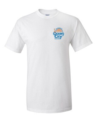Limited Edition: T-Shirts Small Front Pocket Size Logo with Large Back Logo