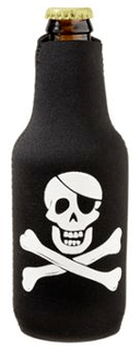 Bottle Buddy - Black - Pirate - Single Pack