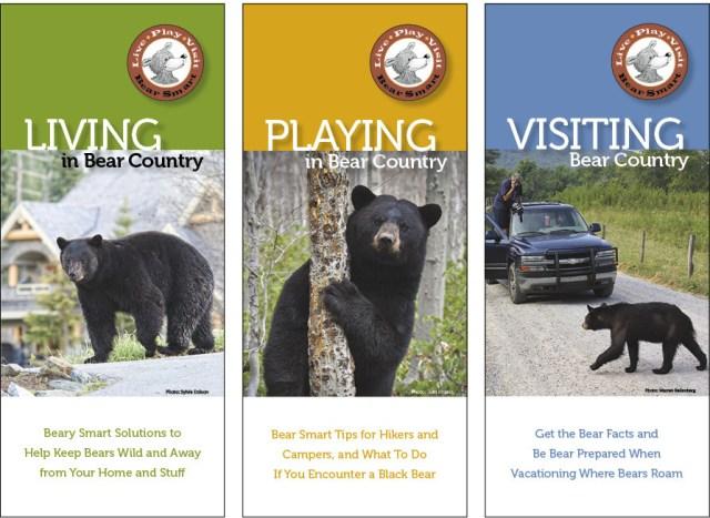 Bear Smart Pocket Guides (set of 3) BSG-set