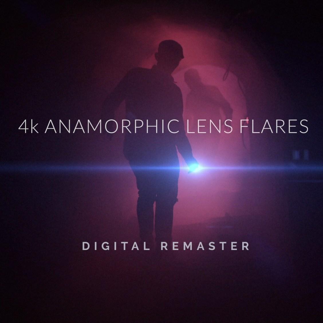 Free Colorist Factory Digital Remaster 4K Anamorphic Lens Flares