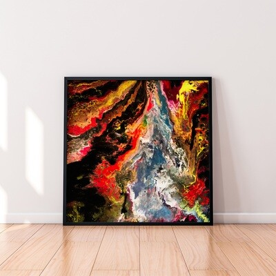 Earthfire (Original 36x36