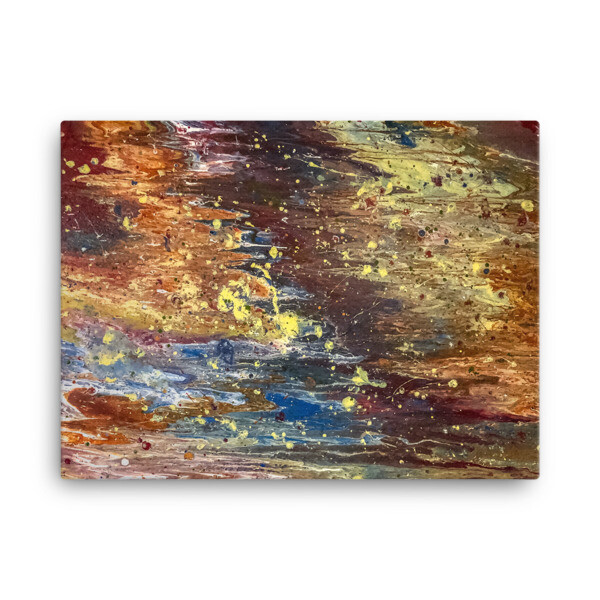 Troublestorm Canvas Art Print