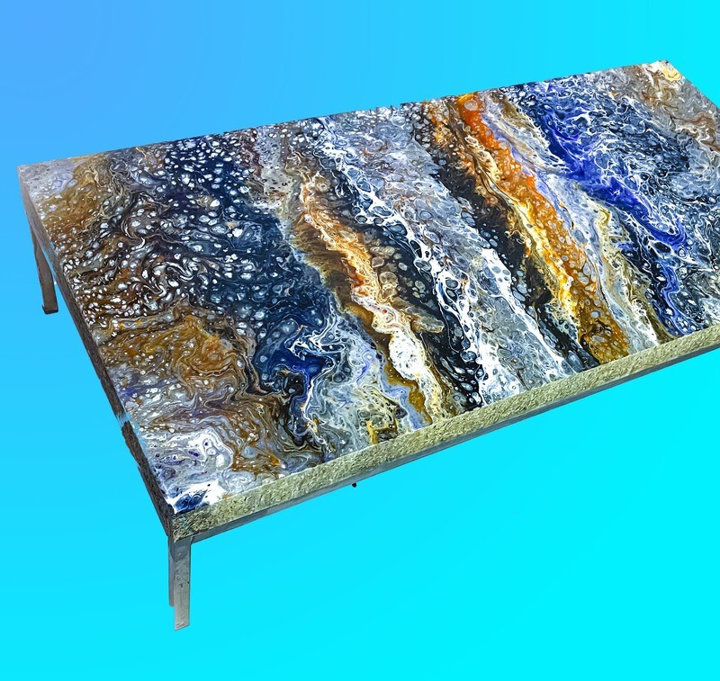 Liquid Marble Coffee Table