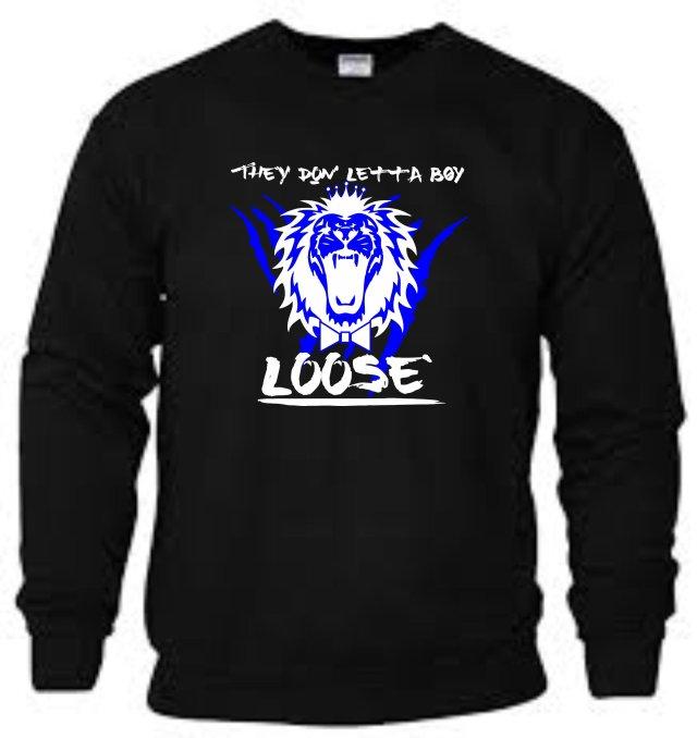 King Roscoe They Don Letta Boy Loose Sweatshirt 4