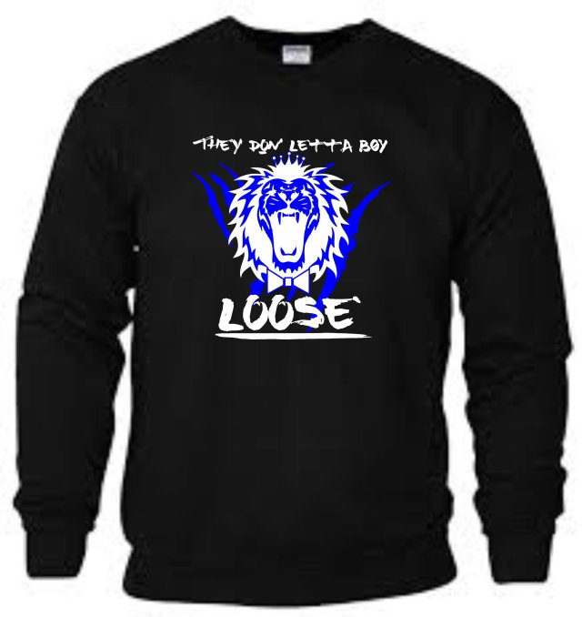 King Roscoe They Don Letta Boy Loose Sweatshirt 4