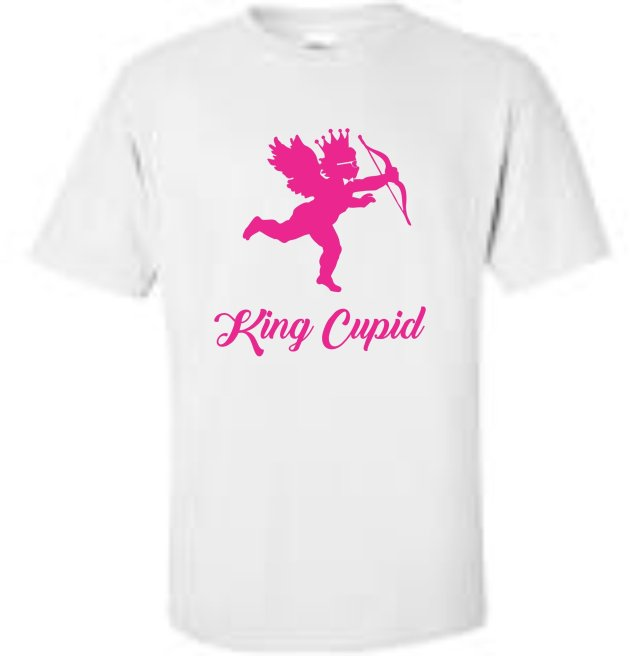 King Roscoe Valentine T-Shirt King Cupid
