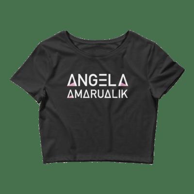 Angela Amarualik Women's Crop Tee
