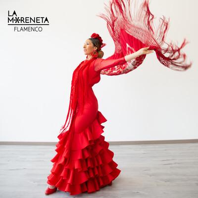 Vestido Sibilina Modelo Lucía color rojo talla 42