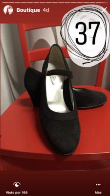 Zapatos Semi profesionales Flamenco Roberto Garrudo N: 37