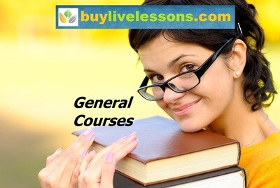 BUY 50 GENERAL LIVE LESSONS FOR 90 MINUTES EACH.