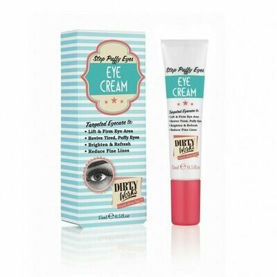 DIRTY WORKS Stop Puffy Eyes Eye Cream