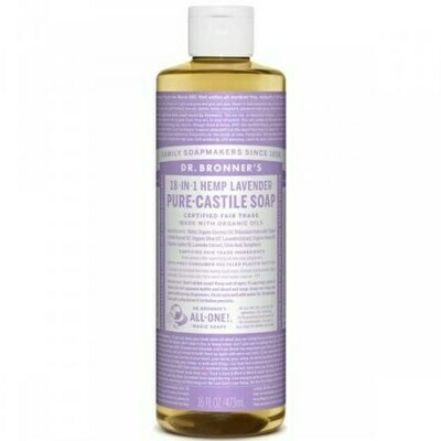 DR BRONNERS ΥΓΡΟ ΣΑΠΟΥΝΙ PURE CASTILE LAVENDER 240ml