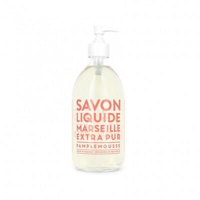Compagnie De Provence 500ml Pink Grapefruit, Extra Pur Liquid Marseille soap