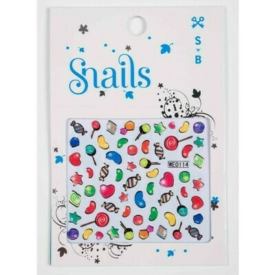SNAILS NAIL STICKERS - CANDY BLAST