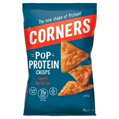 CORNERS POP PROTEIN  RISPS SWEET BARBEQUE