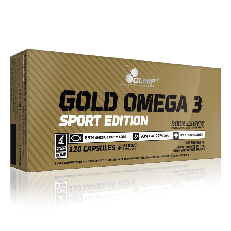 GOLD OMEGA 3 SPORT EDITION 120's