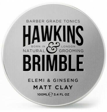 Hawkins & Brimble Matt Clay Pomade100ml (πομαδα πηλου για styling)