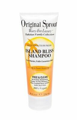 ORIGINAL SPROUT TAHITIAN ISLAND BLISS SHAMPOO 236ML