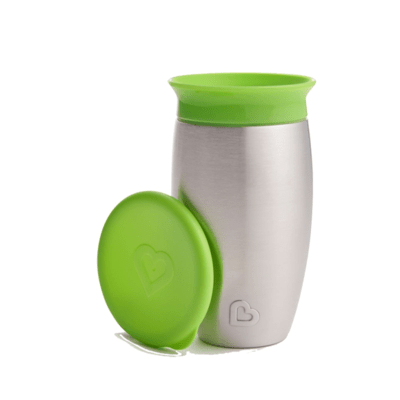 MUNCHKIN GREEN MIRACLE 360° STAINLESS
