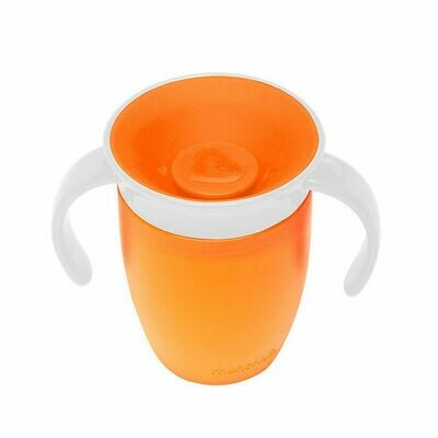 MUNCHKIN MIRACLE 360 TRAINER CUP 207ML ORANGE