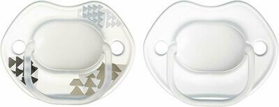 0-6 MODA ORTHODONTIC SOOTHER X2